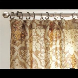 "Pottery Barn ""CAMILLA"" Lined Curtains PAIR 50""X84"""